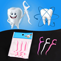 Professional 250pcs Oral Dental Flosser Plastic Disposable Gum Teeth Clean Care Floss Thread Toothpick 2016 Hot Sale X006