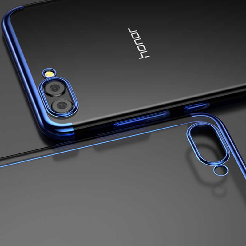 Чехол для huawei Honor 8X Max 8C 8Pro 9 10 Lite задняя крышка телефона покрытие мягкой ТПУ Защитный чехол для Honor V9 V10 Примечание 10 6C Pro