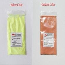 Поставка цвета к цвету фотохромный пигмент, солнечный чувствительный пигмент, 1 лот = 10 грамм HLPC-57 желтый к orange