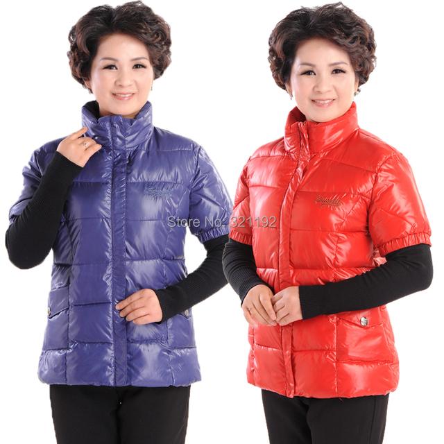 Mujer otoño invierno más el tamaño de cuello alto con cremallera chaqueta de punto de algodón abajo chaleco femenino de primavera de gran tamaño caliente abajo chaleco