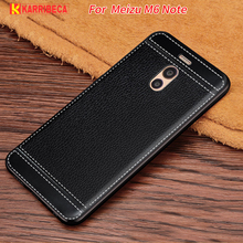 Karribeca Litchi cortex silicone case for meizu