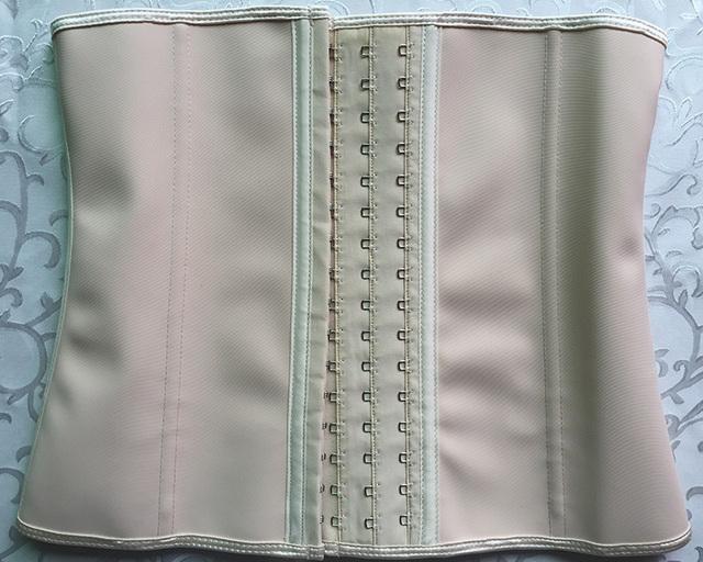 Plus Size Corset Slim Shaper 9 Steel Bone Corset Waist Trainer Latex Girdle Women Waist Belt Modeling Strap Waist Shapewear