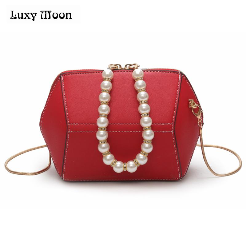 7c476d0a893 2018 Pearls handle women shoulder bag candy color women messenger bags for girls  purse and handbags Ladies clutch purse zd907-in Top-Handle Bags from ...