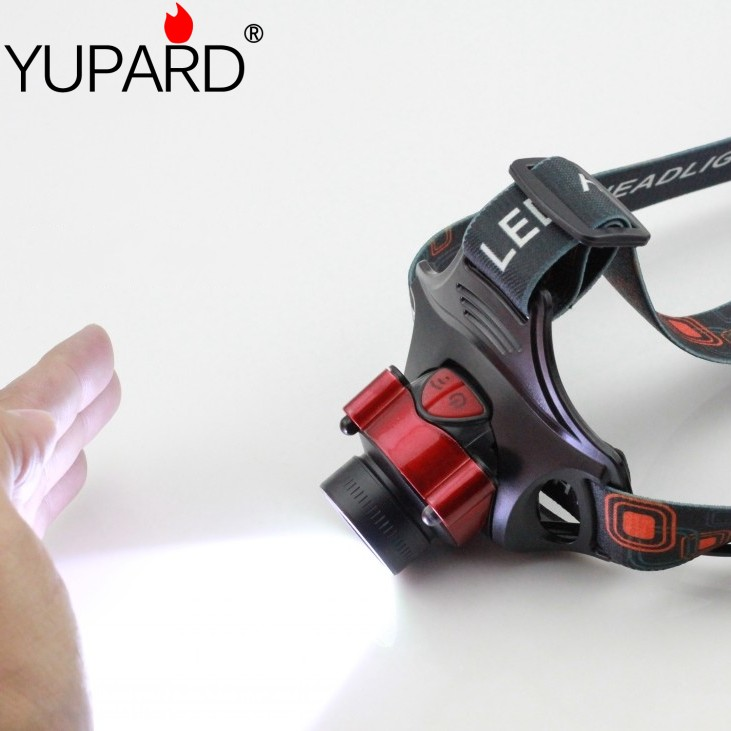 yupard Indukční XM-L T6 LED světlomet Infračervené snímače Světlomet Head lamp Lamp Camping světlo vysoká jasná lampa 18650 / AA