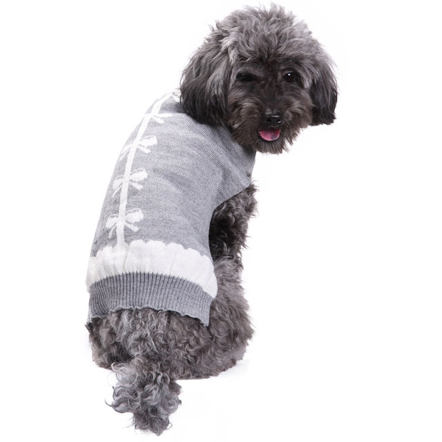 Elegante Gris Invierno Chihuahua Mascotas Ropa Para Perros Pequeño ...