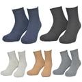 Merino Wool Socks Men Full Terry Winter Warm Calcetines Deporte Colorful Thick Mens Socks  552w