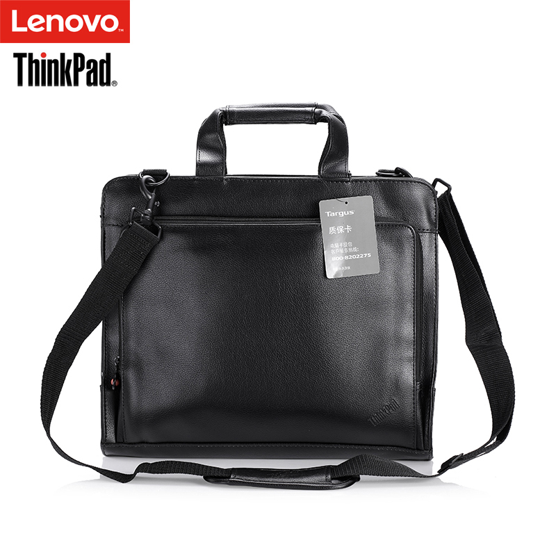 Origina Lenovo ThinkPad Laptop Shoulder Bags Business Briefcase Leather Bag For 12 inch X series Notebook