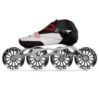 100% Original Bont Enduro 2PT Speed Inline Skates Heatmoldable Carbon Fiber Boot 6061 Frame 4*90/100/110mm G15 Wheels Patines