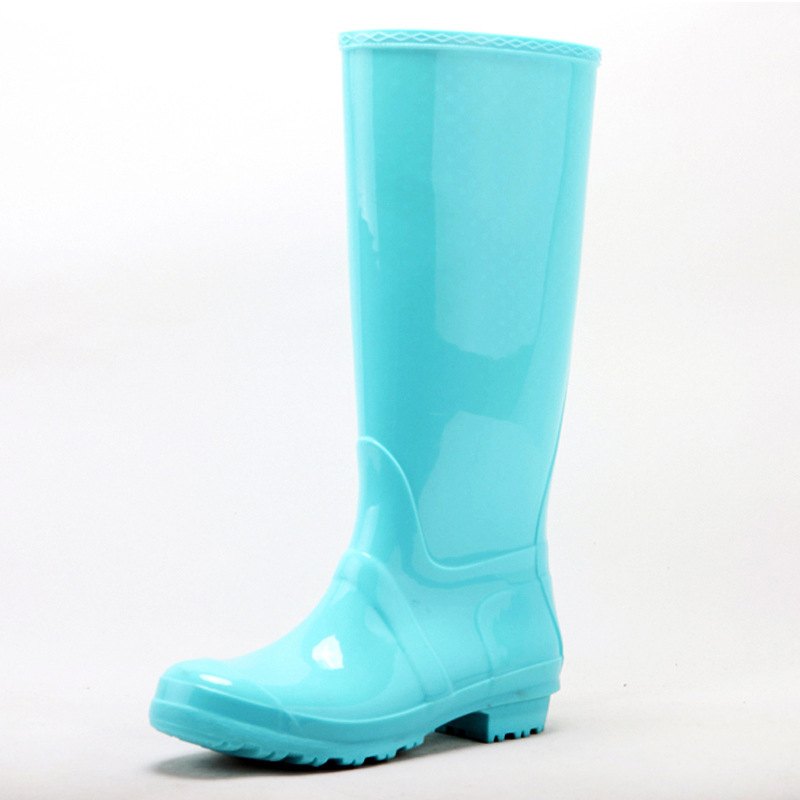 Online Shop 2015 Popular women PVC rain boots name brand rain ...
