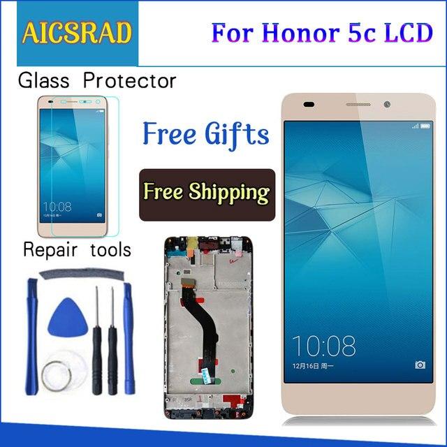 AICSRAD Huawei 社の名誉 5c NEM TL00H NEM UL10 NEM L22 NMO L23 NEM L51 Lcd ディスプレイ + タッチスクリーンデジタイザ国会