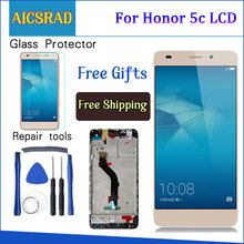 AICSRAD עבור Huawei Honor 5c NEM TL00H NEM UL10 NEM L22 NMO L23 NEM L51 LCD תצוגה + מסך מגע Digitizer עצרת