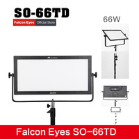 Falcon Eyes SO 66TD video light 66W led panel lamp square soft Studio Light for film Advertisement shooting photography lighting