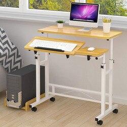 Actionclub Простые Модные маленькийй столик для кровати до подпушка тетрадь настольный компьютер стол в сложенном виде Регулируемый обучения к...