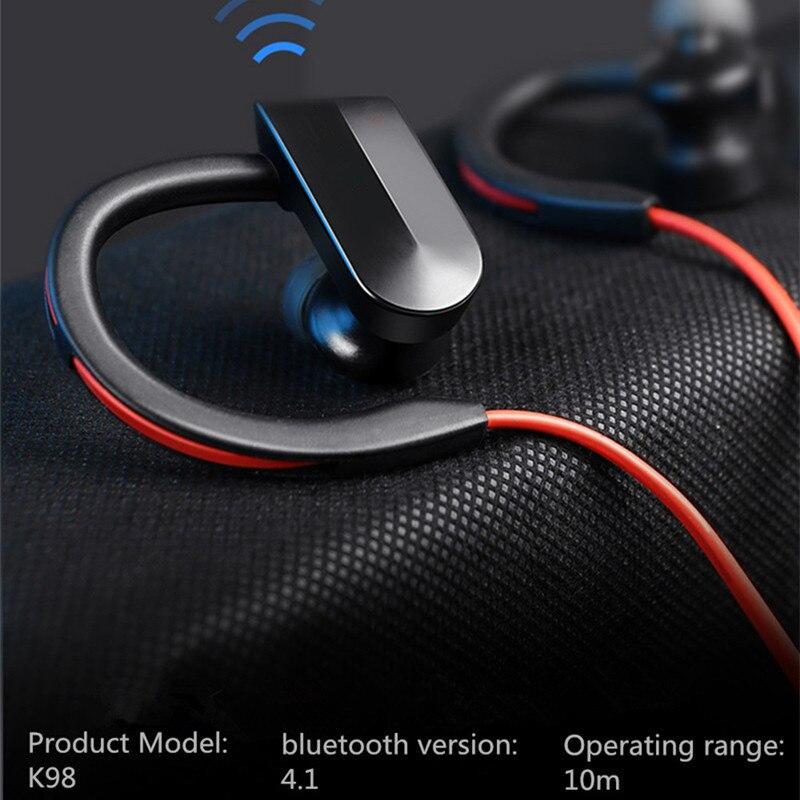Спортивные Bluetooth-наушники, беспроводные наушники, Bluetooth-гарнитура, водонепроницаемая шумоподавляющая гарнитура с микрофоном для телефонов android, ios
