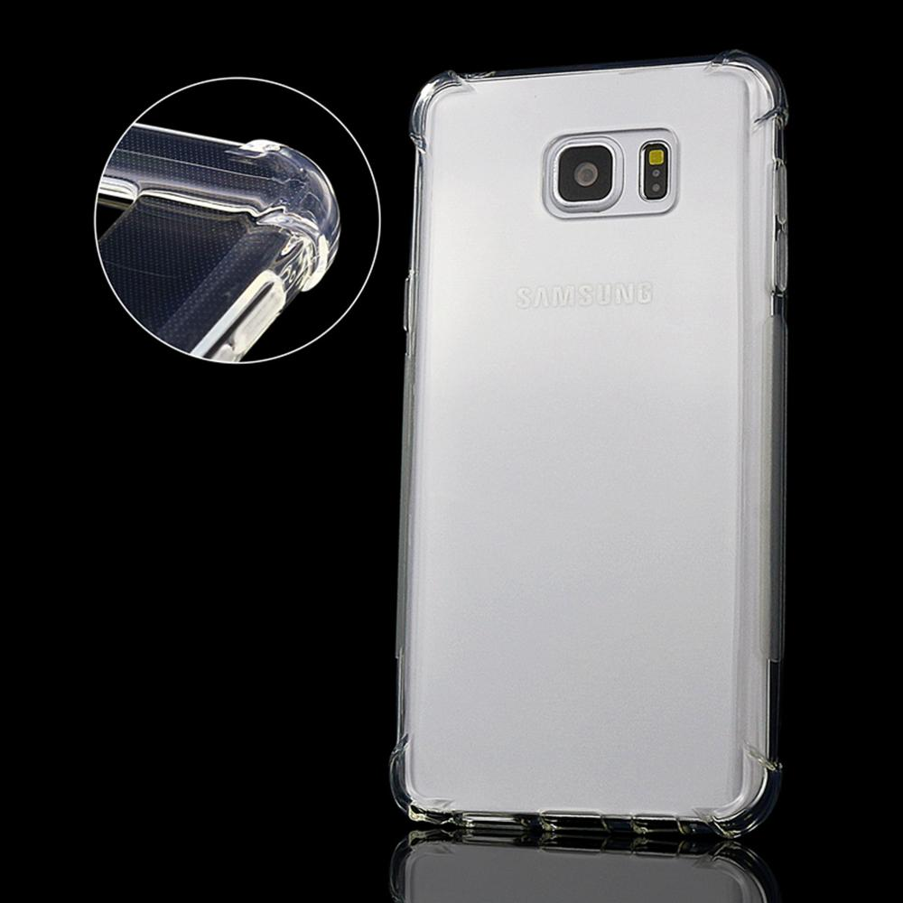 new concept 09c9a f8201 US $2.89 |Shockproof Case For Samsung Galaxy Note 5 Clear Cover Silicone  Ultra Thin Soft Transparent TPU Back Cover For Samsung Note 5 -in ...