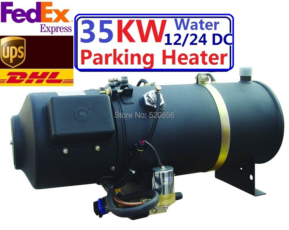 Купить с кэшбэком 35kw 12V 24V  Water Heater Similar Webasto Heater Auto Liquid Parking Heater With  For Bus Hot Sell In Europe High Quality