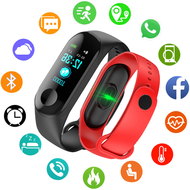 Sport Bracelet Smart Watch Children Kids Watches For Girls Boys Electronic LED D