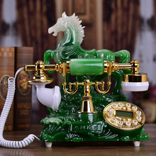 Good art new European romantic fashion retro telephone lamp bedroom antique