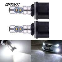 2 PCS Car Automotive LED Luzes de Nevoeiro 881 880 2323 50 w 10SMD Destaca Frente luzes de Nevoeiro Bulds