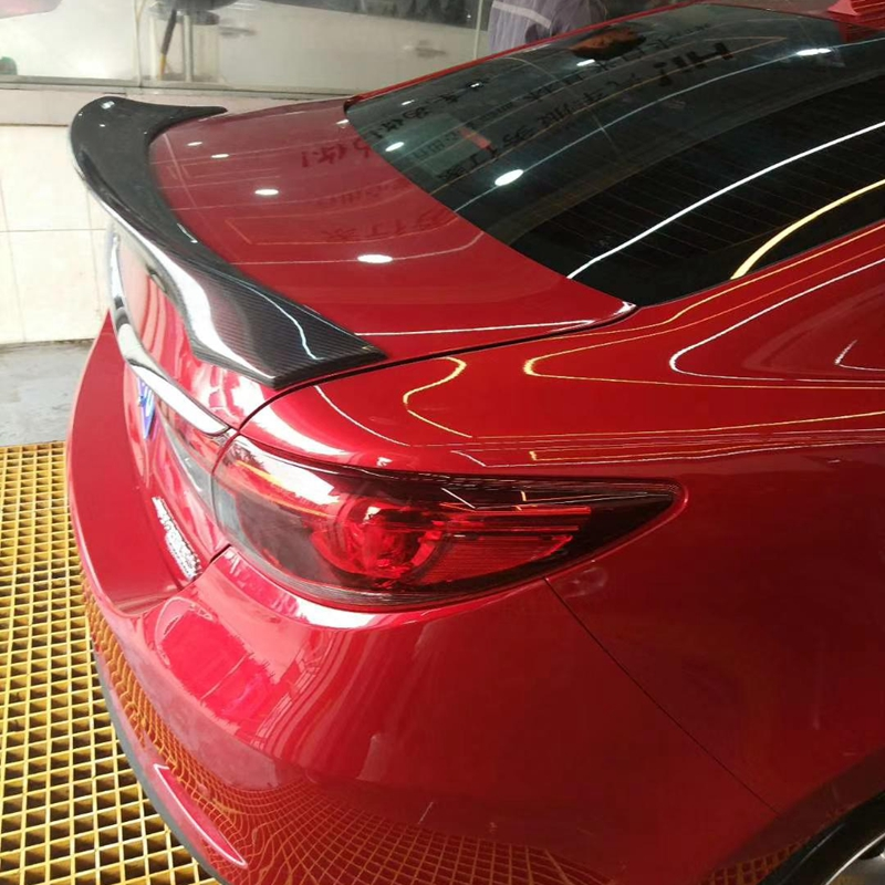 For Mazda 6 2015 2018 atenza Spoiler High Quality Carbon fiber Material Car Rear Rear Spoiler For Mazda 6 atenza Spoiler