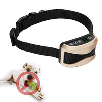 Dog Sensitivity Rechargeable No Bark Collar With Vibration For Small Medium Large Pets Dogs LXY9