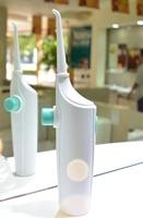 Manual Oral Dental Spa Water For Flosser Pick Jet Interdental Tooth Cleaner Remove Debris Travel Portable