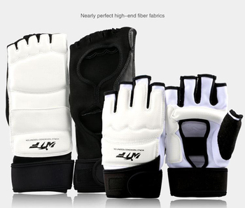 Full Set Of Kung Fu Sport Taekwondo Gloves Foot Ankle Protector Support Wushu Guard Martial Arts Fighting Boxing Hand Protector