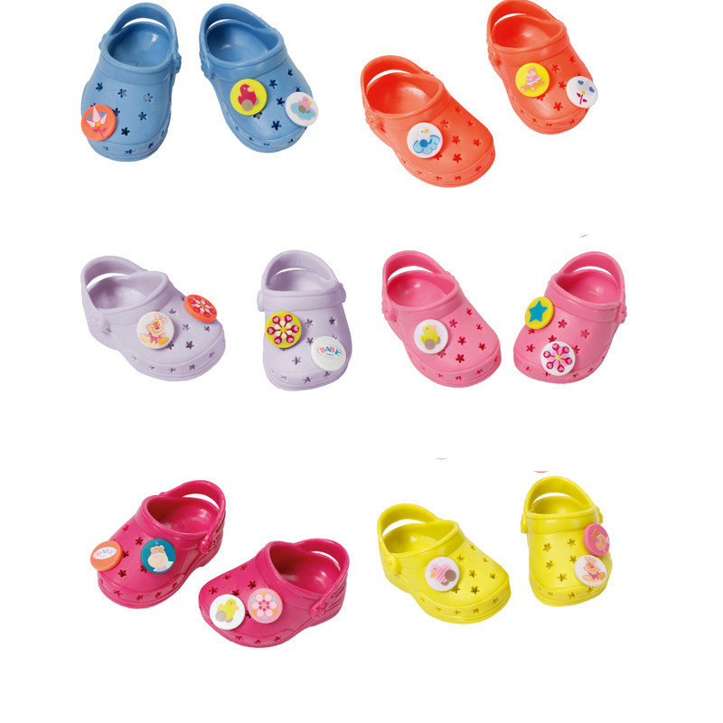 43cm baby born zapf shoes Doll accessories yellow shoes fit 43cm Baby Born zapf, Children best Birthday Gift