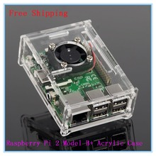 Hot ! Best Price Raspberry Pi Model B+ Acrylic Case Cover Shell B Plus Enclosure Box Compatible with Raspberry Pi 2 model B