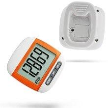 Ультра-легкий пробег калорий движения шагомер шаг монитор счетчик многофункциональный цифровой водонепроницаемый