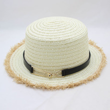 SUOGRY 2018 Summer New Fashion Panama Hat Sun Beach Wild Style Straw Cap Women Femme Wide Brim