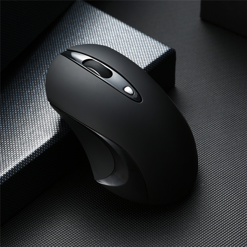 Silent Wireless Mouse 2 4G Ergonomic Mice 1600DPI Noiseless Button Optical Mice Computer Mouse with USB