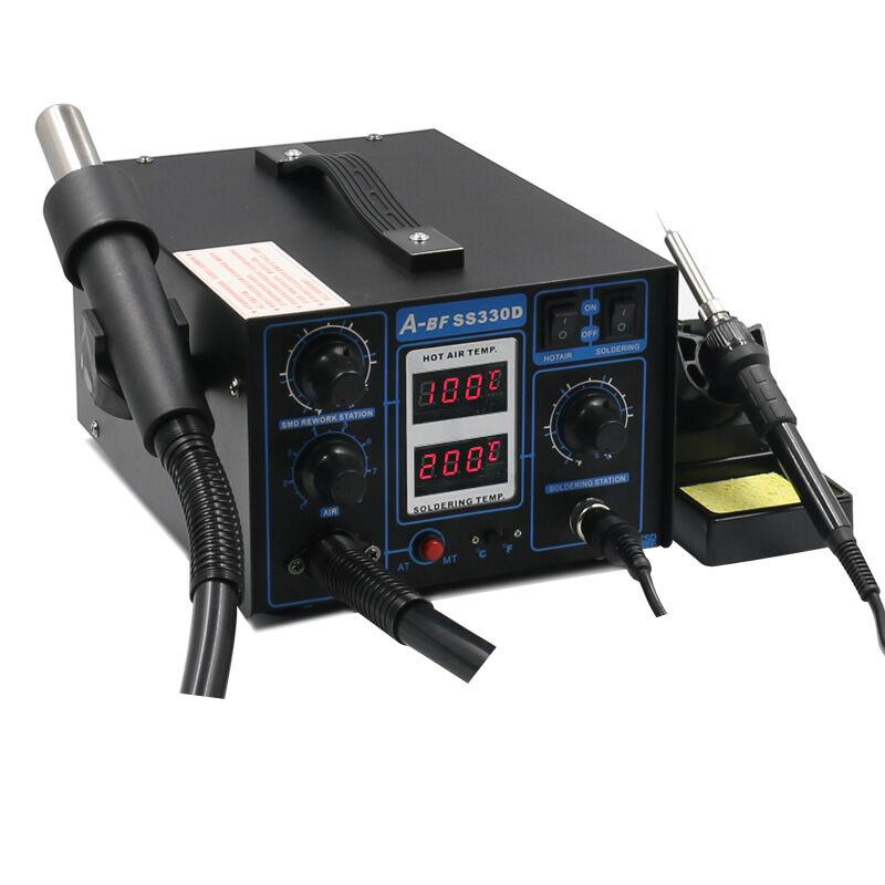 2-v-1 Rework Station duální digitální displej A-BF SS330D - Svářecí technika - Fotografie 2