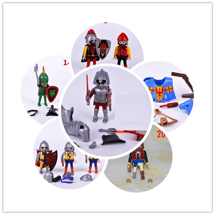 playmobil kits Action Figures mini figure warrior horse knight Venice Merchant king princess pirate child toys gift the merchant of venice white tea туалетная вода 50 мл