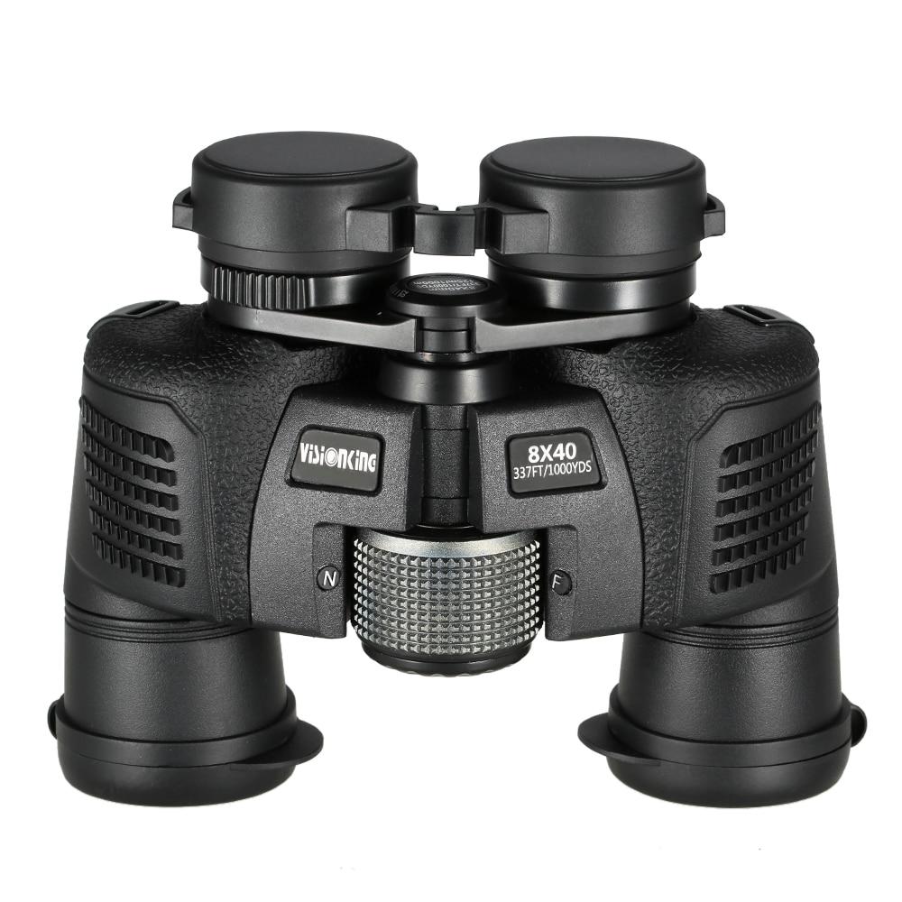 Visionking 8x40 Professional Porro Binocular Wild Angle Birdwatching Hunting Telescope Long Range Waterproof Guide Scope-in Monocular/Binoculars from Sports & Entertainment    1