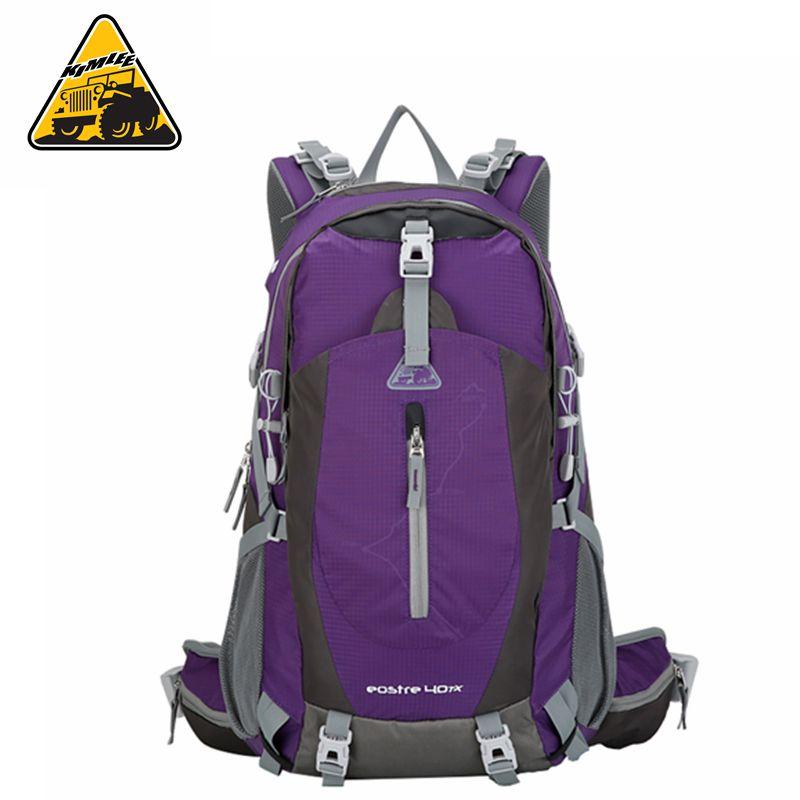 KIMLEE 40L Backpack Travel Daypacks Outdoo Bag Camping Pack Trekking Rucksacks for Men Women Mountaineering KCB4028U
