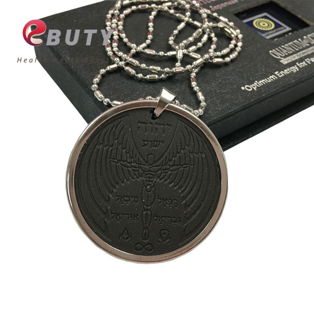 Ebuty angel spiritual quantum pendant scalar energy health lava ebuty angel spiritual quantum pendant scalar energy health lava stone pendants with stainless steel chain 3000cc mozeypictures Images