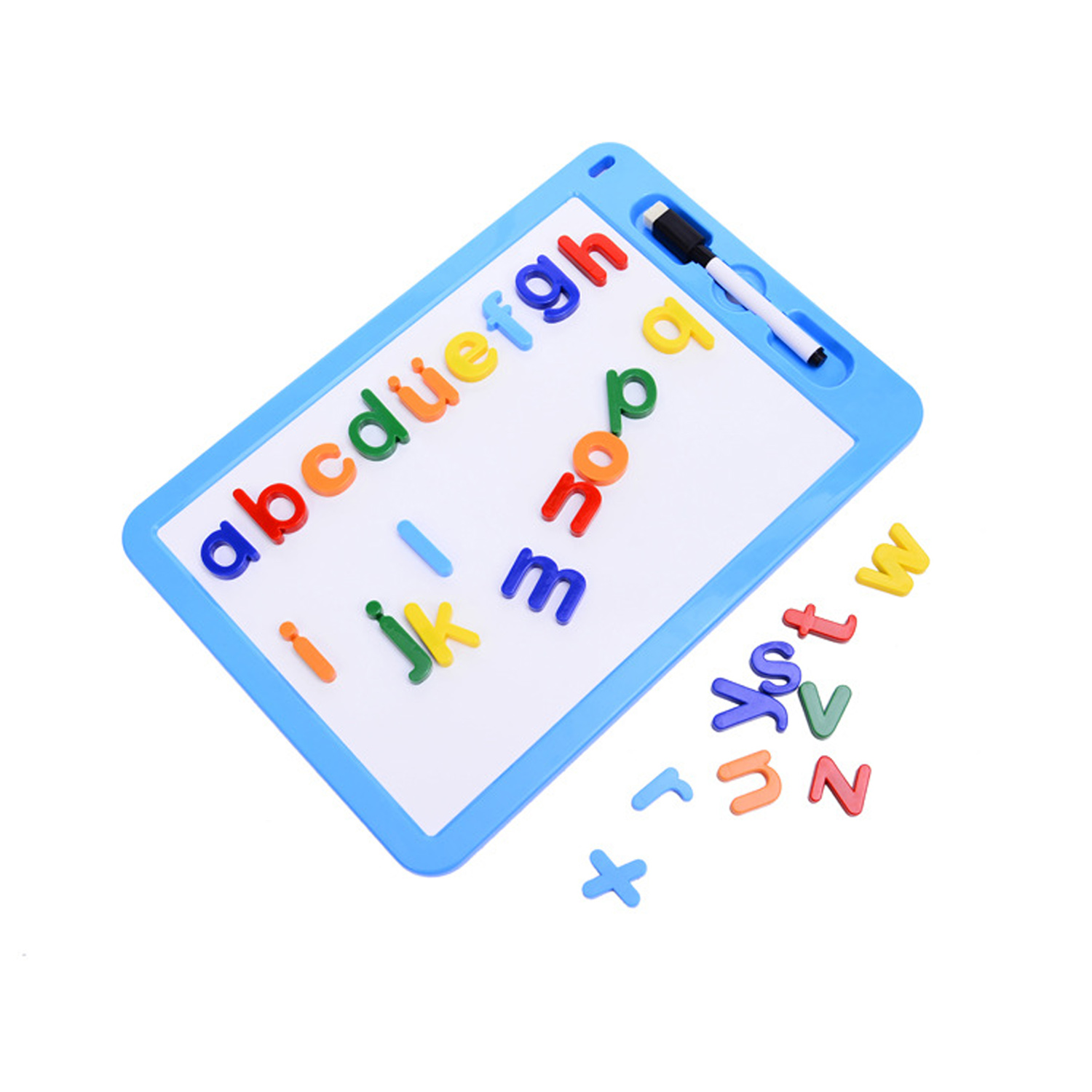 89pcs/Set Magnetic Learning Numbers Alphabet Letters Toddlers Kids Preschool Learning Spelling Counting Educational Toys