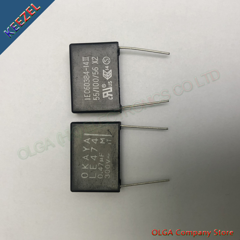Valley LE474 X2 Safety Film Capacitor 0.47uf 470nf 474 300vac.