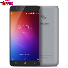 Original Blackview E7 5.5 inch 4G Smartphone 1GB RAM+16GB ROM Android 6.0 MTK6737 Quad Core 1.3GHZ 8.0MP 2700mAh Fingerprint HD