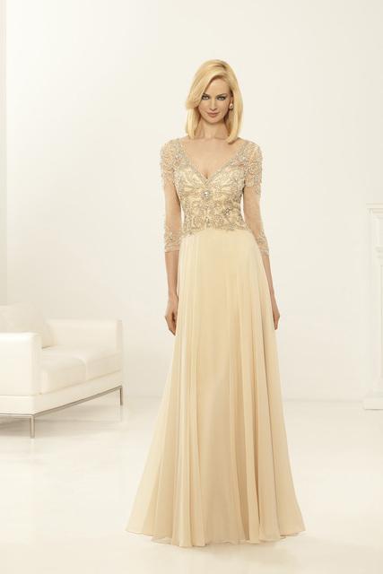 Alta Qualidade Mão Beading Corpete vestidos de Noiva Mãe Vestidos Champagne Mãe dos Vestidos de Noiva Plus Size para Casamentos