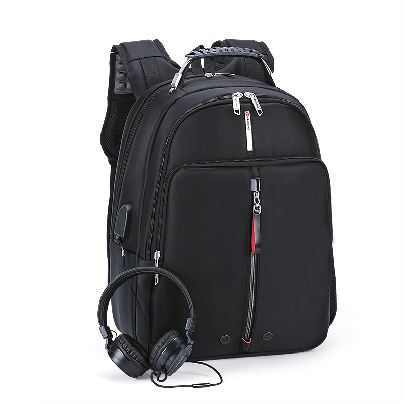 Business Bag USB Charge And Earphone Interface Notebook Men Backpack Travel Bag Large Laptop Bags for 16 inch Laptop 14 15 15 6 inch flax linen laptop notebook backpack bags case school backpack for travel shopping climbing men women