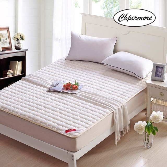 Chpermore five star hotel high quality Mattress 100% Cotton Foldable Tatami Single double Mattresses King Queen Size
