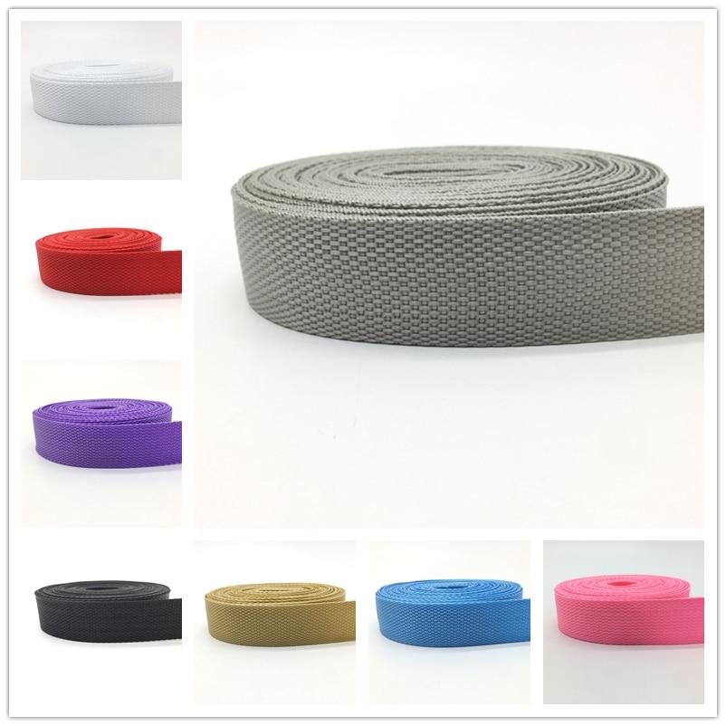 10 Yards 30mm Canvas Ribbon Belt Bag Webbing Nylon Ribbon Knapsack Strapping Sewing Bag Belt Accessories