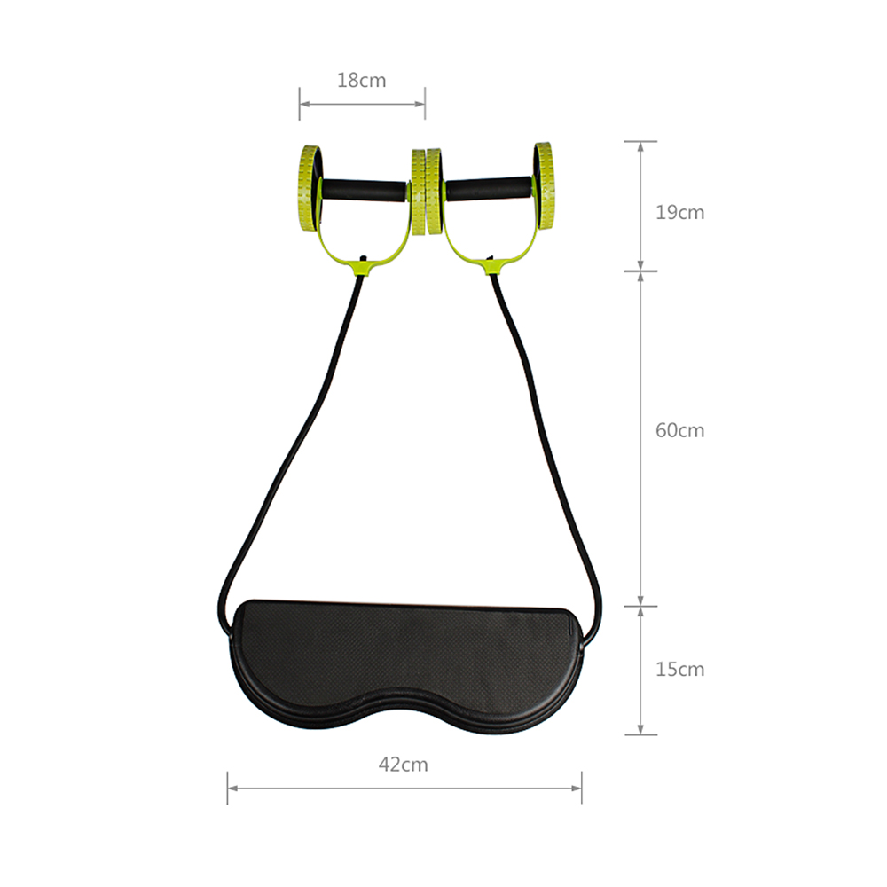 albreda slidingtrainer multifunctional ab tension device combination ab  slimming weight loss equipment ab wheel slimming weight-in ab rollers from  sports