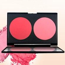 NOVO Double-Color Blusher Face Makeup V-shaped little face double color repair p