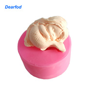 180103 Mermaid Design 1 Silikon Kalıp Sabun Mum ve Çikolata yapmak için Mutfak DIY Aracı
