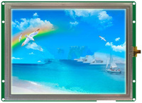 DMT10768K080_03W 8 - inch industrial serial screen high - definition industrial LCD screen