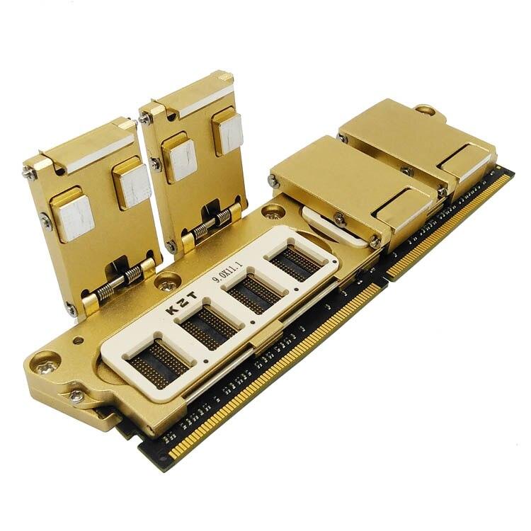 DDR4 SDRAM Partículas Teste Elétrico Multi-função Tudo em um Gabarito de Memória Chip De Queimadura na Tomada de Excelente Qualidade