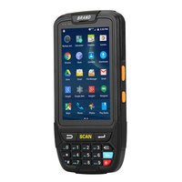 7 android 4 Android 7.0 Handheld pos terminal with NFC UHF RFID reader memory 4 inch large screen Data Terminal 1D,2D Laser Barcode Scanner (2)